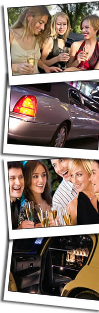 Wedding cars, pink limos, Hummers, airport cars, taxis and prom cars